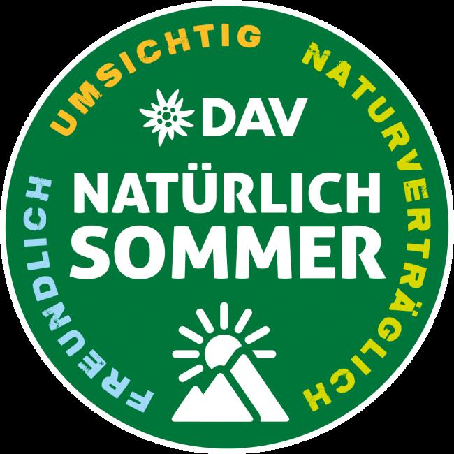 """Logo der Kampagne """"Natürlich Sommer"""""""