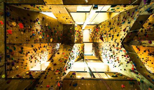 Artikelbild zu Artikel Klettern im Kletterpütt